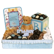 Baby Boy Gift Basket - Large