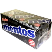 Licorice Mentos Box - 9CT Case