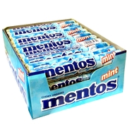 Mint Mentos Rolls - 40CT Case