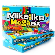 Mike & Ike Candy Theater Box - Mega Mix 10 Flavors - 12CT Case