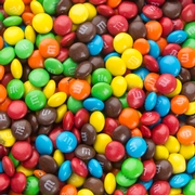 Mini Assorted Rainbow M&M's Milk Chocolate Candy