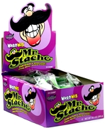Wack-O-Wax Mr. Stache Mustache Candy - 24CT Box