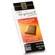 No Sugar Added Creme Deluxe Milk Chocolate Bar