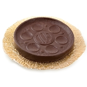 Passover Dark Chocolate Seder Plate