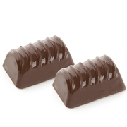 Non-Dairy Peanut Butter Chocolate Logs