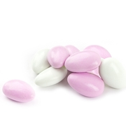 Pink & White Jordan Almonds