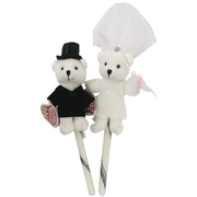 Bride & Groom Candy Sticks