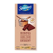 Shneider Dark Baking Chocolate bar - 7.05 oz