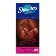 Shneider 56% Dark Chocolate With Cocoa Beans
