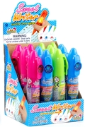 Sweet Writer Flashing Candy Pen Pops - 16CT Box