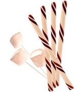 Toasted Marshmallow Candy Sticks