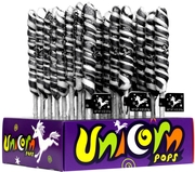 Black & White Unicorn Pops - 24CT Display Box