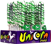 Green & White Unicorn Pops