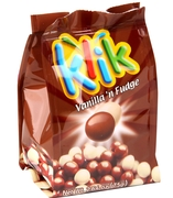 Klik Vanilla 'n Fudge Milk Chocolate Balls - 6PK