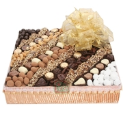 Israel Chocolate & Nut Line-Up Gift Basket