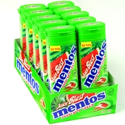 Mentos Juicy Blast Watermelon Filled Gum - 12CT Case