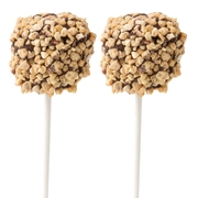 Chocolate Dipped Marshmallow Pop - Nuts