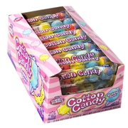 Dubble Bubble Cotton Candy Gumballs 5-Pc Tubes - 36CT Box