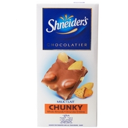 Shneider's Milk Chocolate Chunky Almond Chocolate Bar