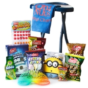 Camp Champ Take Along Folding Stool Kids Gift Pack