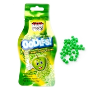 Oodles Tiny Tangy Green Apple Fruity Chews Bags - 48 CT Box