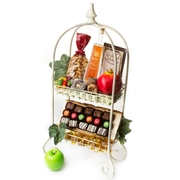 Rosh Hashanah Vintage Two Tier Gift Basket