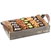 Passover Wooden Gift Tray - Medium