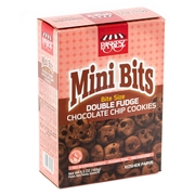 Paskesz Passover Mini Bits Double Fudge Chocolate Chip Cookies