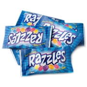 Mini Razzles 2-Pack Candy Gum - 240CT Box