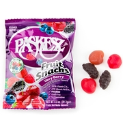 Paskesz Fruit Snacks - Very Berry - 8 CT Box