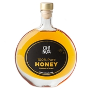 Rosh Hashanah Oval Honey Bottle - 5oz