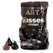 Black Hershey's Kisses - 17.6oz Bag