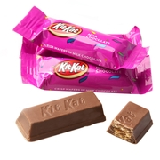 Miniature Pink Kit Kat's - 17oz Bag