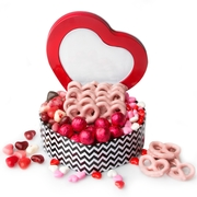 Valentines Day / Mothers Day Heart Sweet Gift Tin
