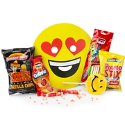 Purim Emoji Mask Gift Basket