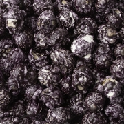 Black Candy Coated Popcorn - Black Cherry