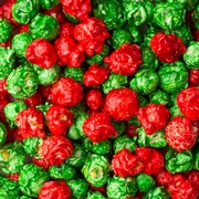 Christmas Candy Coated Popcorn