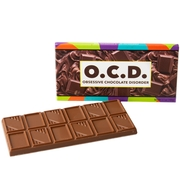 'Obsessive Chocolate Disorder' Humor Chocolate Bar Favor