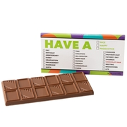 'Have A....' List Humor Chocolate Bar Favor