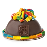 Hand Made Dome Belgian Chocolate & Candies Explosion Cake