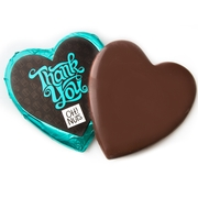 'Thank You' Dark Belgian Chocolate Messgage Heart