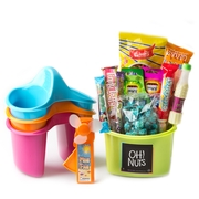 Camp Champ Organizer + Mini Fan Kids Gift Pack