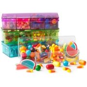 Camp Champ 4 Section Candy Box Kids Candy Pack