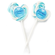 'Its A Boy' Pink Duck Lollipops - 24CT Box