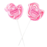 'Its A Girl' Pink Duck Lollipops - 24CT Box