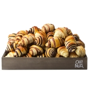 Rugelach Gift Basket wood tray