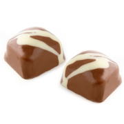 Hand Made Biscuit Dairy Chocolate Truffles - 12 CT Box