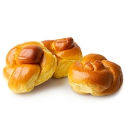 Individually Wrapped Mini Challah Rolls