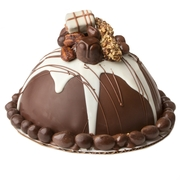 Hand Made Dome Belgian Chocolate & Nuts SMASH CAKE