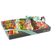 Candy Line-Up Gift Basket - large 12
